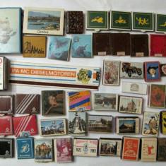 Colectie 58 cutii de chibrituri romanesti si straine anii 70-80