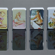 Bricheta benzina sexy girl - Bricheta Cu benzina