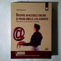 Alin Popescu - Despre afacerile online si problemele lor juridice