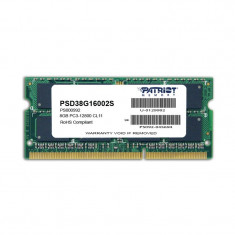 Memorie notebook Patriot Signature 8GB DDR3 1600MHz CL11 - Memorie RAM laptop