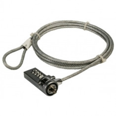 Cablu antifurt laptop, cifru, metal, Logilink 'NBS002'