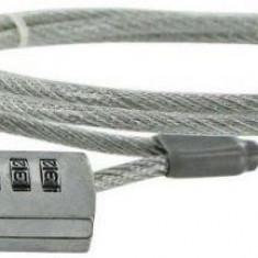 4WORLD Cablu securitate notebook 4World cu cifru