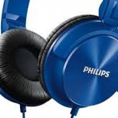 Căști Philips SHL3060BL/00, Casti On Ear, Cu fir, Mufa 3, 5mm, Active Noise Cancelling