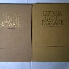 Istoria limbii romane {2 volume} - Eseu