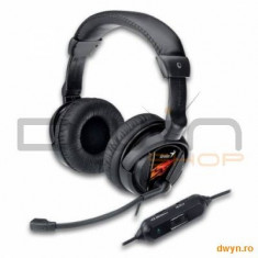 Casti Genius 'HS-G500V' + microfon noise cancelling, control volum, Vibration for Gaming '3171002010 - Casca PC