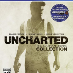 JOC PS4 SONY UNCHARTED COLLECTION - Jocuri PS4 Sony, Actiune, 16+