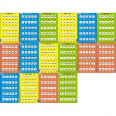 Set 16 Puzzle-uri 0 - 100, 25 Piese Larsen LRP_48