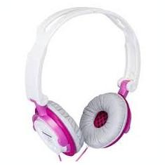 PANASONIC RP-DJS150E-P, Casti On Ear, Cu fir, Mufa 3, 5mm