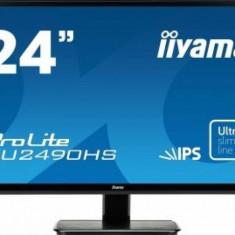 IIYAMA Monitor LED IIyama Prolite XU2490HS-B1 24 inch Negru