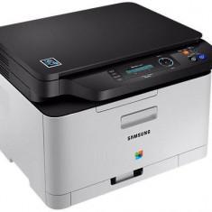 Samsung Imprimanta C480W MFC Laser, color, format A4, Wi-Fi (SL-C480W/TEG) - Imprimanta laser color