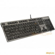 TASTATURA A4TECH KV-300H X-Key ISOLATION (silentioasa), USB, Dark Grey, Cu fir