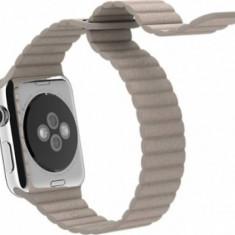 Apple Apple Watch curea piele crem 42 mm marimea m - Curea ceas piele