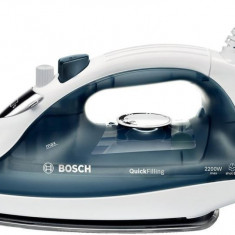 Fier de calcat Bosch TDA2365, albastru inchis, 220 ml, Ceramica, 2200 W