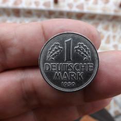 Moneda de colectie de 1 mark.1950, litera F., Europa, Cupru-Nichel