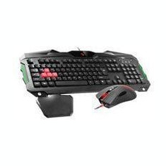 Gaming set (keyboard, mouse) A4Tech Bloody Q2100 USB, US Black - Tastatura A4tech, Kit, Cu fir