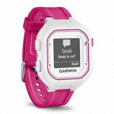 Smartwatch Garmin Forerunner 25 sport, alb/roz