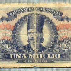 A1351 BANCNOTA-ROMANIA-1000 LEI-18IUNIE1948 -SERIA 0098-starea care se vede - Bancnota romaneasca