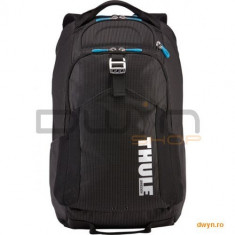 Thule Professional Backpack for 17 Apple MacBook & iPad pocket, with Safe-zone, Black - Geanta laptop THULE, Rucsac, Nailon, Negru