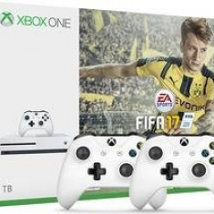 Microsoft Consolă Xbox One S 1TB FIFA 17