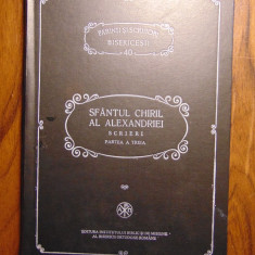 PSB 40 - Sfantul Chiril al Alexandriei - Scrieri. Partea a treia (1994) - Carti ortodoxe