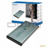 HDD Enclosure 2.5' HDD S-ATA to USB 2.0, Aluminium