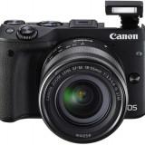 Kit aparat foto digital Canon EOS M3 (cu obiectiv de 18-55 S)
