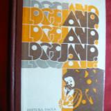 Antologie de G.Tepelea - Ano, Ano Logojano - Versuri in grai banatean -Ed. 1974 - Carte Arta muzicala