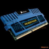 Corsair DDR3 4GB 1600MHz, 1x4GB, 9-9-9-24, radiator Blue Vengeance, single module, 1.5V - Memorie RAM