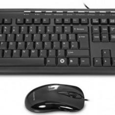Gigabyte KEYBOARD + MOUSE GIGABYTE, ENG/BLACK, GK-KM6150V2 - Tastatura Gigabyte, Kit