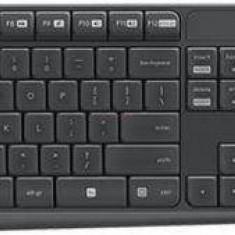 Kit Tastatura Logitech Logitec Combo MK235 si Mouse Wireless Combo MK235, Fara fir, USB
