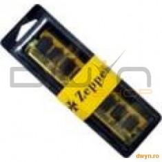 DIMM DDR2/800 2048M (kit 2x1024M) dual channel kit PC6400 ZEPPELIN (retail) - Memorie RAM
