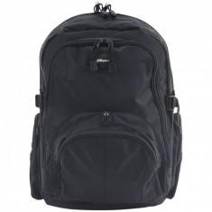 Rucsac notebook Targus 15.6', Black, Material rezistent, multiple buzunare, CN600 - Geanta laptop Targus, Nailon, Negru