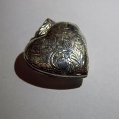 Pandant argint inimioara - 663 - Pandantiv argint