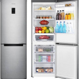 Samsung Samsung Combina frigorifica RB29HER2CSA, 286 l, Clasa A++, Argintiu (RB29HER2CSA)