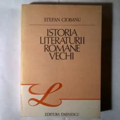Stefan Ciobanu – Istoria literaturii romane vechi - Eseu