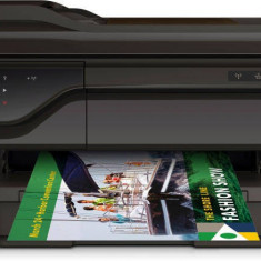 Multifunctional HP Officejet 7612 e-All-in-One de format extins, A3+, Duplex, ADF, Retea, Wireless, ePrint - Multifunctionala