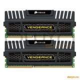 Corsair DDR3 8GB 1600MHz, KIT 2x4GB, 9-9-9-24, radiator Vengeance, dual channel, 1.5V - Memorie RAM