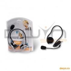 A4tech A4Tech HS-5P, Headphone, Volume control, Microphone - Casti PC