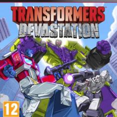 Joc software Transformers Devastation PS3 Activision