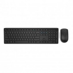 Dell Wireless Keyboard and Mouse-KM636 - Arabic (QWERTY) - Black (RTL BOX) - Tastatura Dell, Kit, Fara fir, USB