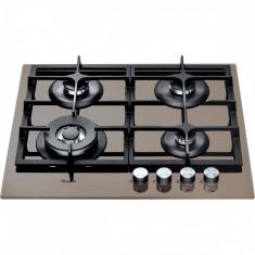 Plita incorporabila Whirlpool GOA 6425 S, 4 Arzatoare gaz, Aprindere electrica, 60 cm, Argintiu Quartz Light, Numar arzatoare: 4