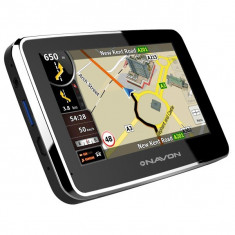 Sistem navigaţie NAVON N490 Plus + hartă Europa iGO8 (45 ţări) + update pe viaţă, 4, 3, Toata Europa, Lifetime