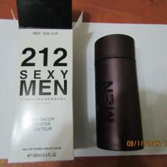 PARFUM TESTER C.H 212 SEXY MEN -- 100 ML -SUPER PRET, SUPER CALITATE! - Parfum barbati Carolina Herrera, Apa de toaleta