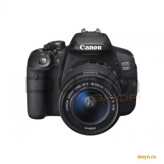 Camera foto Canon DSLR EOS 700D + EF-S 18-55 IS STM Black, 18 MP, CMOS, 3.2' vari-angle LCD touch sc - DSLR Canon