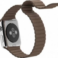 Apple Watch curea piele maro 42 mm marimea m