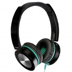 Panasonic Casti Panasonic Over-Head RP-HXS400E-K Black, Casti On Ear, Cu fir, Mufa 3, 5mm, Active Noise Cancelling