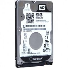 HDD intern notebook WD 2.5, 500GB, Black, SATA3, 7200rpm, 32MB, w/ AdvFormat [WD5000LPLX] - Hard Disk Western Digital
