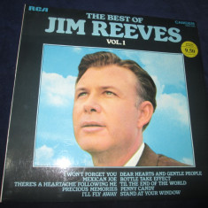 Jim Reeves – The Best Of Jim Reeves Vol. 1 _ vinyl(LP, compilatie) UK - Muzica Country Altele, VINIL