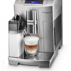 Masina de cafea PrimaDonna S DeLonghi ECAM 28.465.MB 1450 W, 15 bar, 2 L, dozator de cafea reglabila, Argintiu - Espressor automat