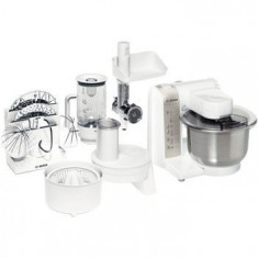 Robot de bucătărie Bosch MUM4856EU, alb - Robot Bucatarie